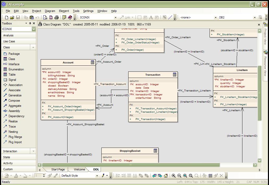 Enterprise architect modelowanie systemw w uml hanze enterprise architect modelowanie baz danych ccuart Image collections